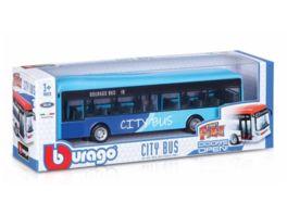 Bburago 19cm City Bus Tueren zum Oeffnen sortiert 1 Stueck