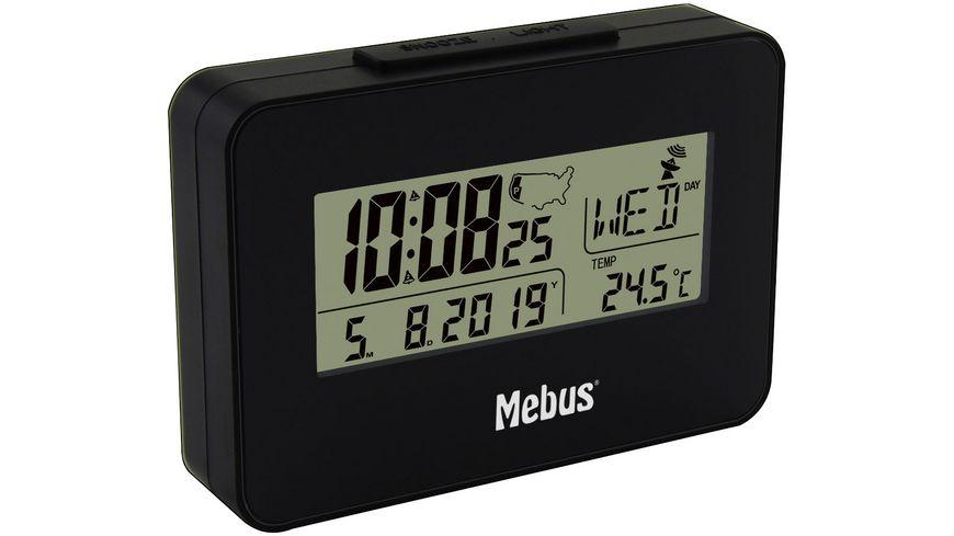 Mebus digitaler Multiband-Funkwecker 25652