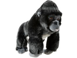Heunec Bedrohte Tiere Gorilla 26cm Plueschfigur