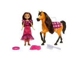Spirit frei und ungezaehmt Miradero Festival Puppe Lucky und Pferd Spirit