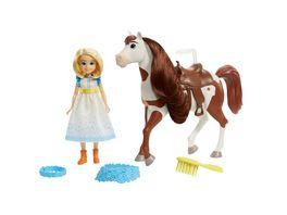 Spirit frei und ungezaehmt Miradero Festival Puppe Abigail Pferd Boomerang