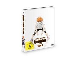 Haikyu To the Top Staffel 4 Vol 1 OVAs Der Weg des Balls An Land vs In der Luft 2 DVDs