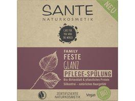 SANTE FAMILY Feste Glanz Pflege Spuelung Bio Birkenblatt pflanzliches Protein