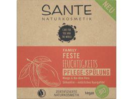 SANTE FAMILY Feste Feuchtigkeits Pflege Spuelung Mango Bio Aloe Vera