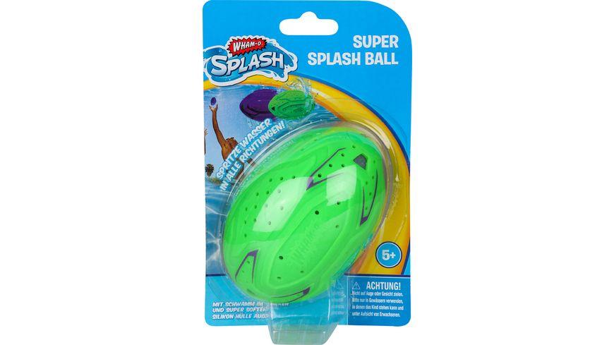 Wham-O SUPER SPLASH BALL aus weichem Silikon und integriertem Schwamm 81171
