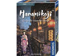 KOSMOS Hanamikoji Erringe die Gunst Geishas Spiel