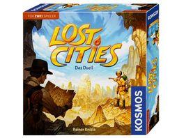 KOSMOS Lost Cities Das Duell Spiel