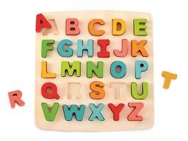 Hape Puzzle mit Grossbuchstaben E1551