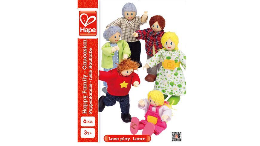Hape Puppenfamilie – Helle Hautfarbe E3500