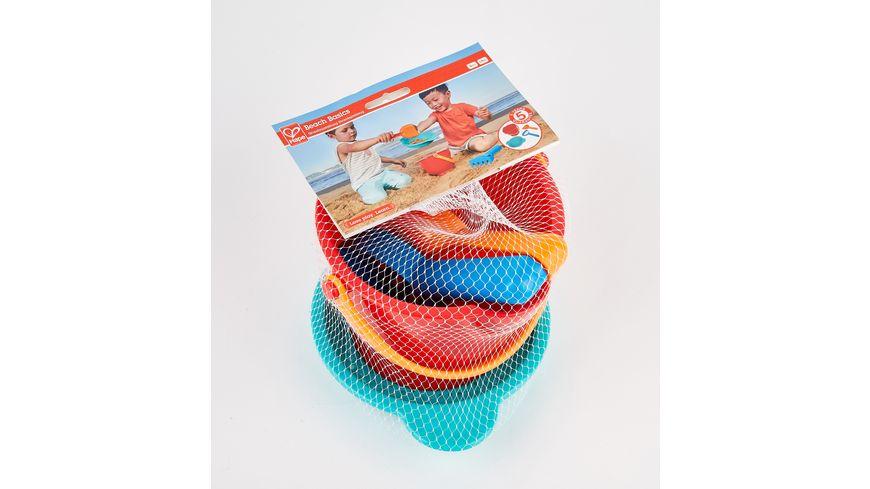 Hape Grundausstattung Strandspielzeug  E4056
