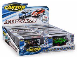 Carson Nano Racer Sport 4 fach sortiert 500709022 1 Stueck sortiert