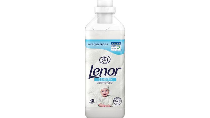 Lenor Weichspueler Konzentrat Sensitiv Flasche 950ML - 38WL