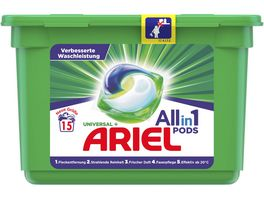 Ariel Vollwaschmittel All in 1 Pods Universal 15WL x 27 3g