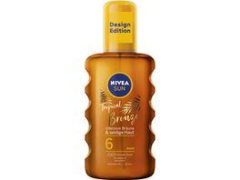 NIVEASUN Oil Spray intensive Braeune und seidige Haut LF6 200ML