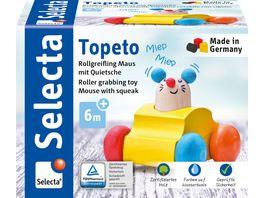Selecta Holzspielzeug Babywelt Topeto 7 cm 61048