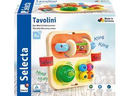 Selecta Holzspielzeug Babywelt Tavolini Motorikspielzeug 14 cm 62014