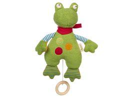 sigikid Spieluhr Frosch Green 39497