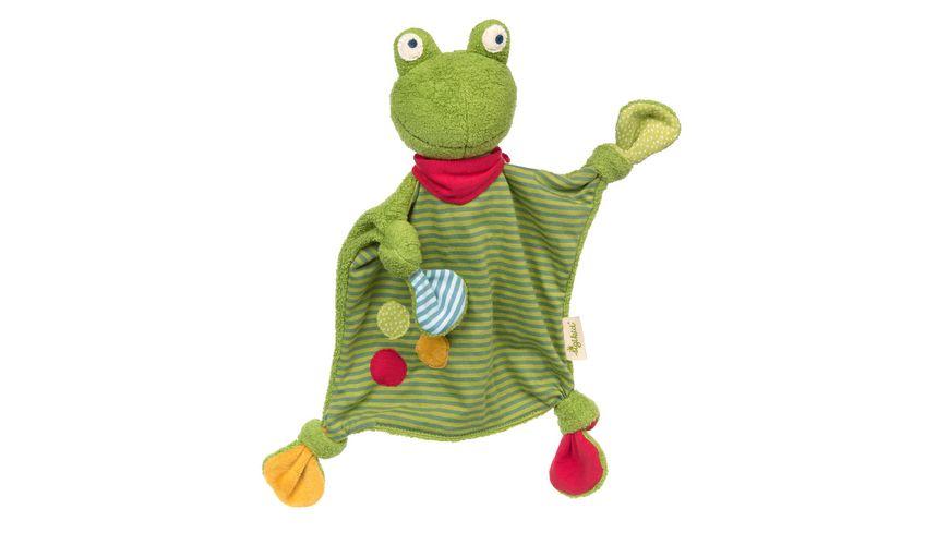 sigikid Schnuffeltuch Frosch, Green 39496