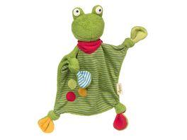 sigikid Schnuffeltuch Frosch Green 39496