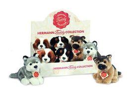 Teddy Hermann Hunde sitzend 15 cm 928195