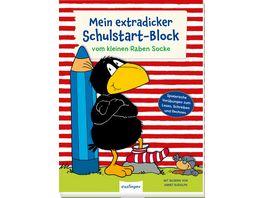 Der kleine Rabe Socke Mein extradicker Schulstart Block