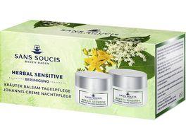 Sans Soucis Herbal Sensitive Bundle Set Tages und Nachtpflege