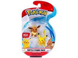 Pokemon Battle Figure Pack Pikachu Evoli