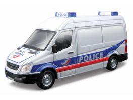 Bburago 1 50 Mercedes Sprinter Polizei