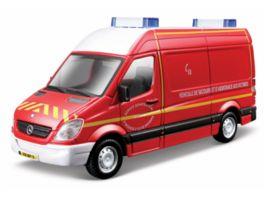 Bburago 1 50 Mercedes Sprinter Feuerwehr