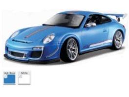 Bburago 1 18 Porsche Gts Rs 4 0 1 Stueck sortiert Weiss Blau