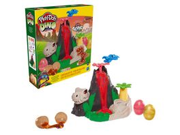 Hasbro Play Doh Dino Crew Die Dino Insel mit HydroGlitz Masse