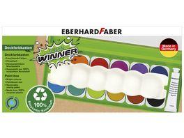 EBERHARD FABER Deckfarbkasten 12er Green Winner