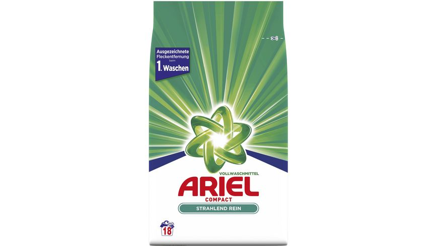 Ariel Compactvollwaschmittel Regulär 1.35KG - 18WL