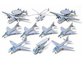 Tamiya 1 350 US Marine Flugzeugset II 10 300078009