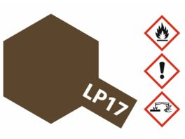 Tamiya LP 17 Linoleum Braun Dkl 10ml 300082117