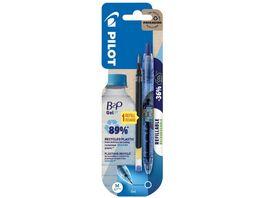 PILOT Gelschreiber Bottle 2 Pen 0 7 mm blau