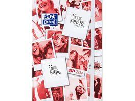 Oxford Schuelerkalender Polaroid 12x18cm sortiert