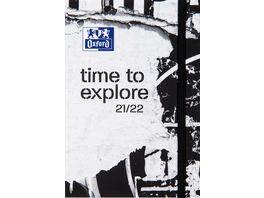Oxford Schuelerkalender Time 12x18cm sortiert