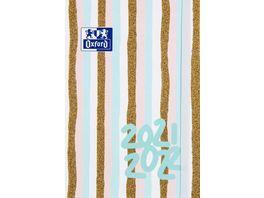 Oxford Schuelerkalender Jahreszahl 12x18cm sortiert