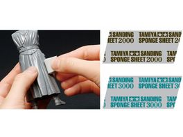 Tamiya Schleifschwamm 3000 Koernung 114x140mm 300087171