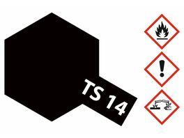 Tamiya TS 14 Schwarz glaenzend 100ml 300085014