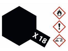 Tamiya X 18 Schwarz seidenmatt 23ml 300081018