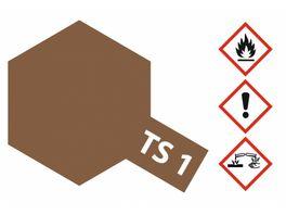 Tamiya TS 1 Rot Braun matt 100ml 300085001