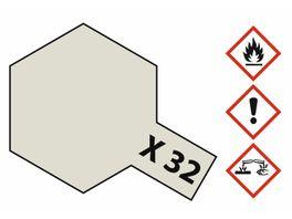 Tamiya X 32 Titanium Silber glaenzend 23ml 300081032