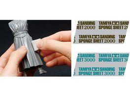 Tamiya Schleifschwamm 2000 Koernung 114x140mm 300087170