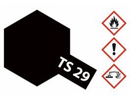 Tamiya TS 29 Schwarz seidenmatt 100ml 300085029
