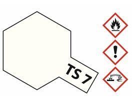 Tamiya TS 7 Racing Weiss glaenzend 100ml 300085007