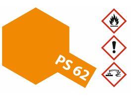 Tamiya PS 62 Pure Orange ENEOS 100ml Spray 300086062
