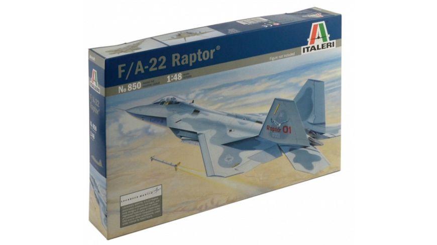 Italeri 1:48 F-22 RAPTOR 510000850