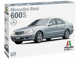 Italeri 1 24 Mercedes Benz 600S 510003638